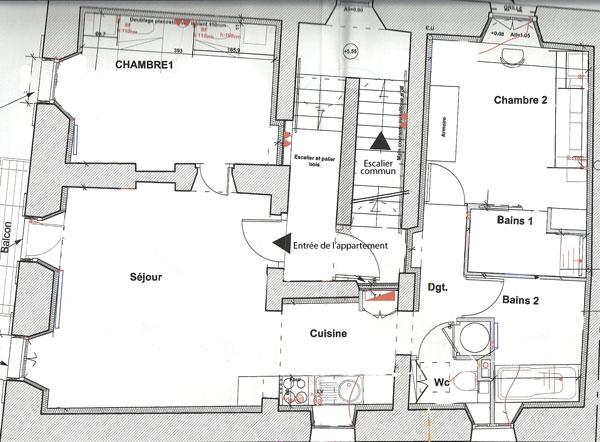 Plan appartement 140 m2 - Plan appartement 120 m2 ...